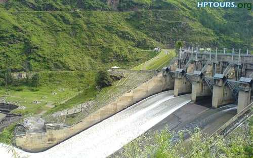 Pandoh Dam Mandi District Himachal Pradesh