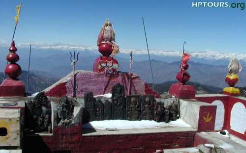 Shikari Mata or Shikari Devi  Temple Mandi District Himachal Pradesh